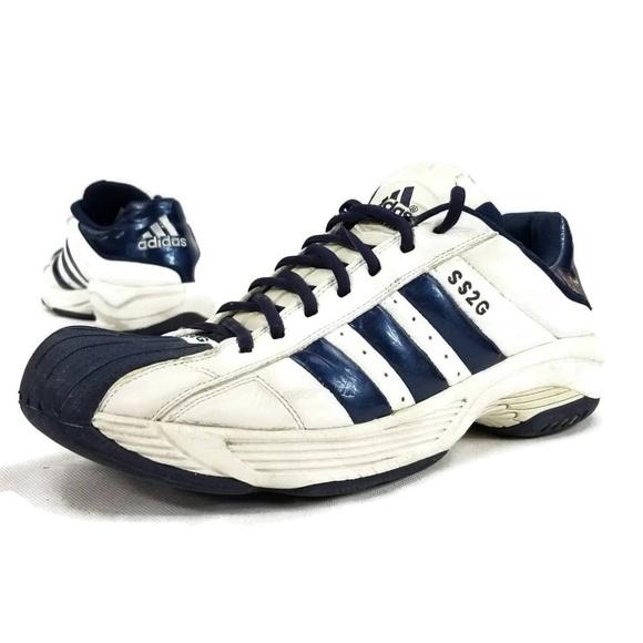 adidas Shoes   Adidas Ss2g Blue White